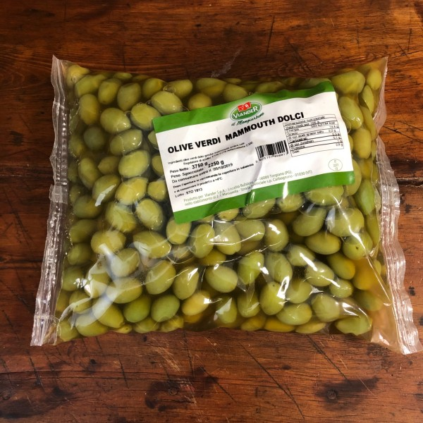 Sweet green olives 2.24kg