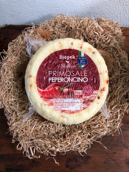 Pecorino with chilli