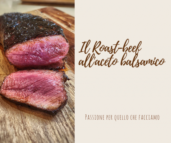 Roast-beef all'aceto bals, Modena IGP