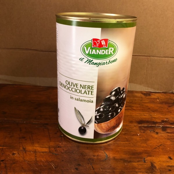 Black olives without pits 5 kg