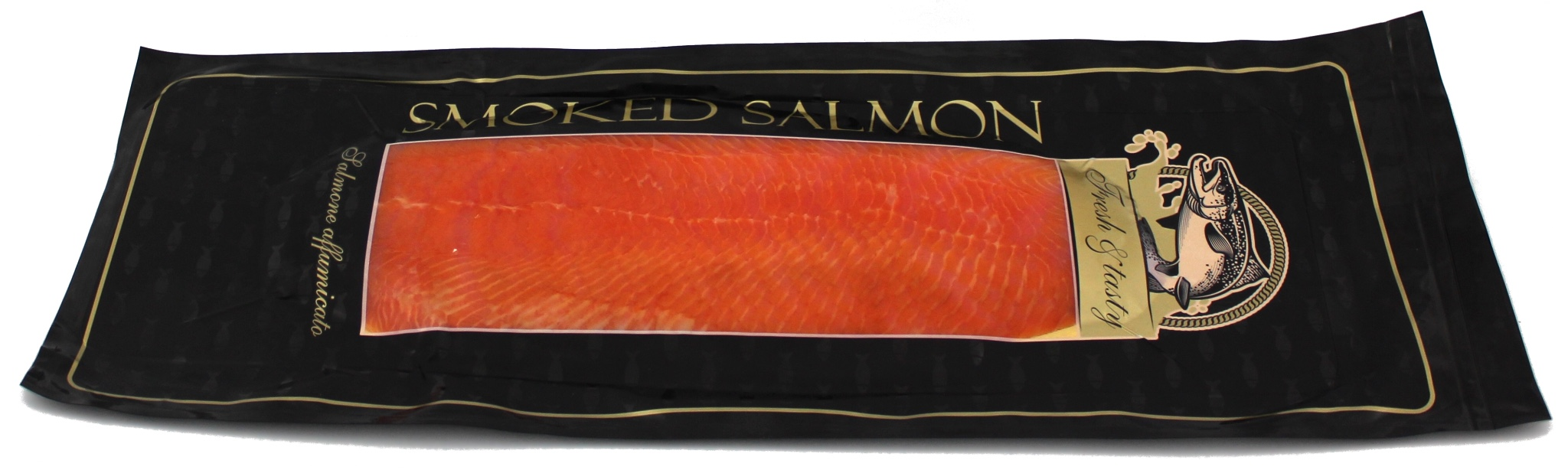 Scottish salmon smoked from 0,9 to 1,4 kg